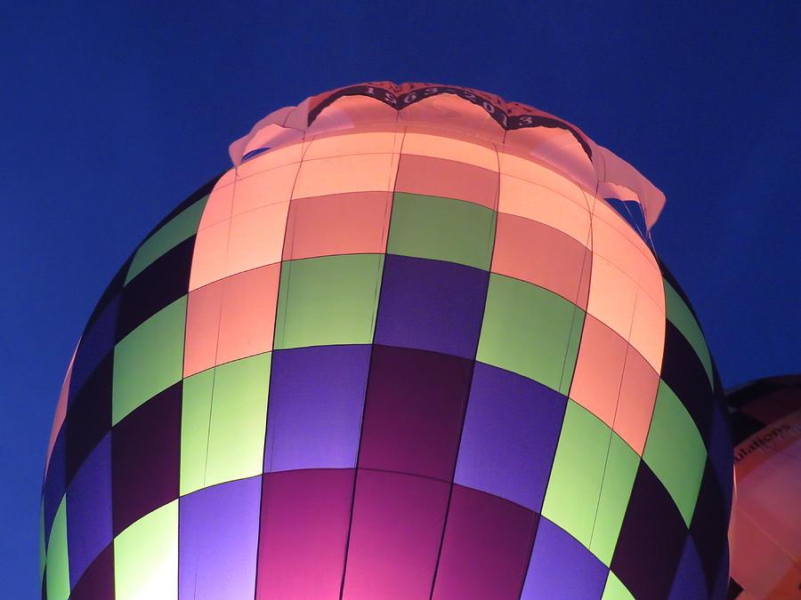 Hot Air Digital Art - Air Balloon by Kathleen Illes