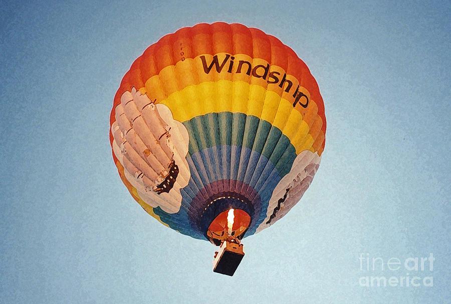 Air Balloon Photograph - Air Balloon by Sonya Chalmers