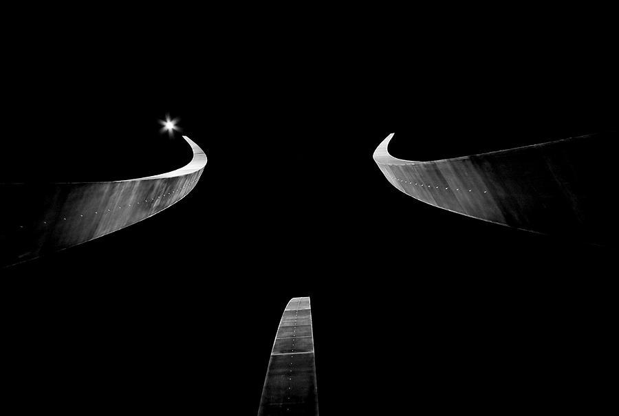 Monument Photograph - Air Force Monument by Caroline Clark