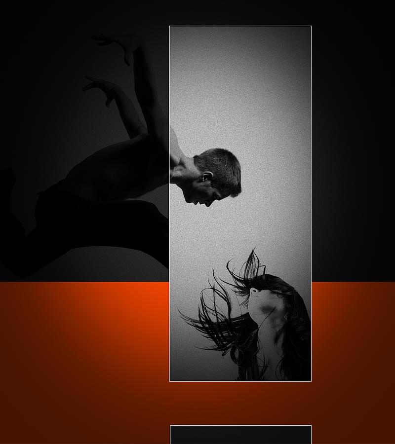 Romantic Photograph - Air Kiss by Naxart Studio