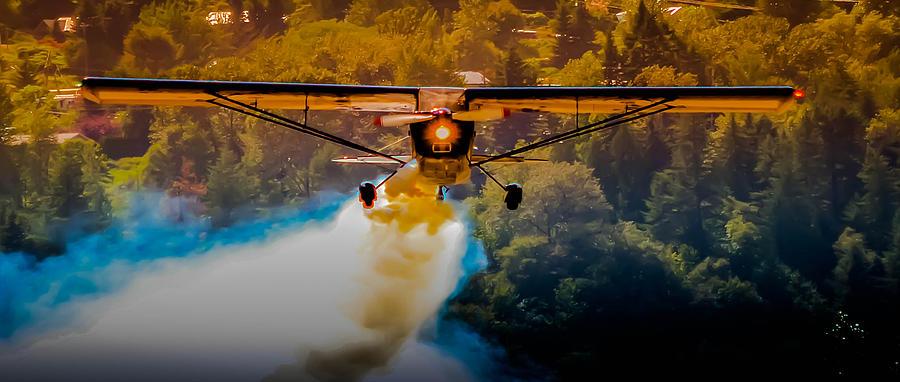 Airplane Photograph - Air Show by Joy McAdams