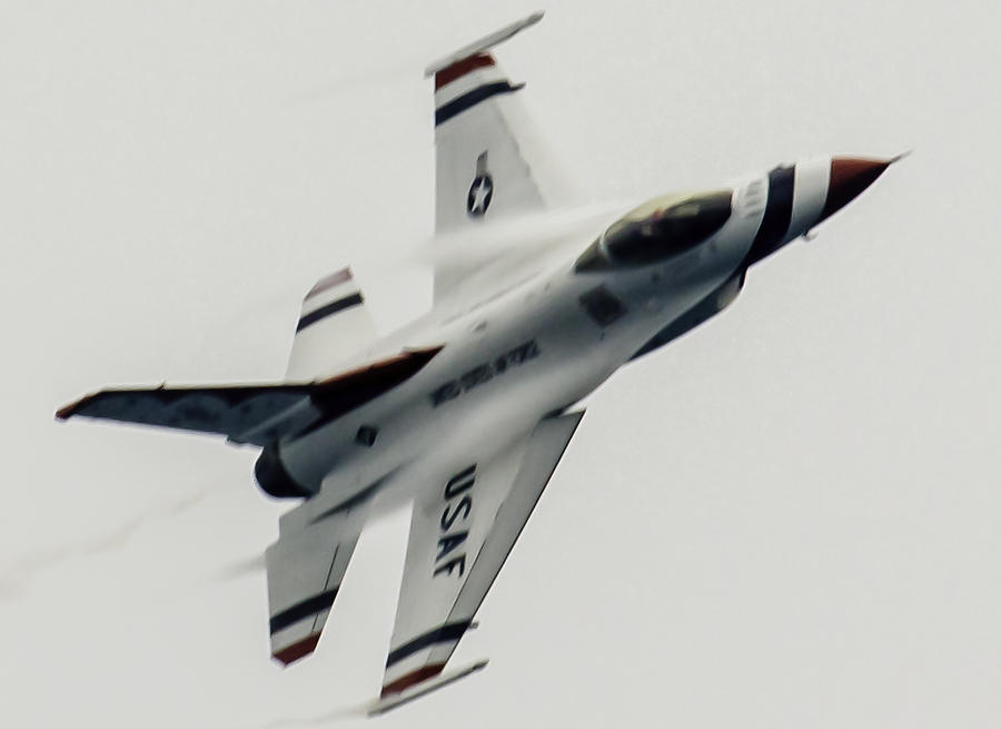 Usaf Photograph - Air Speed by Michael Nowotny