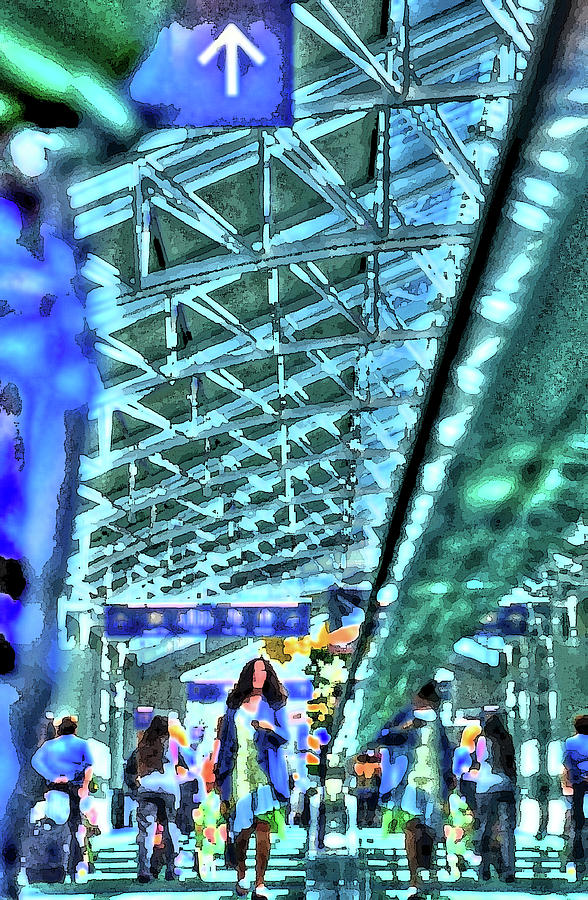 Airport Layover Pk Photograph