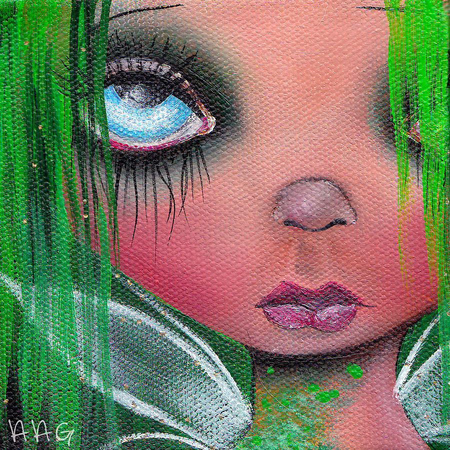 Fairy Painting - Aislin by  Abril Andrade Griffith