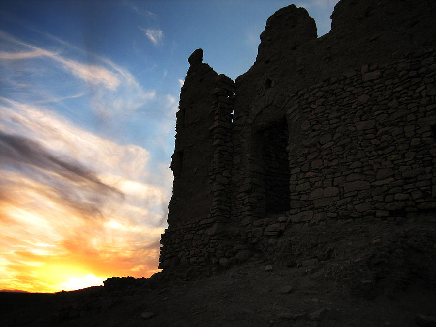 Atmospheric Photograph - Ait Benhaddou by Oliver Johnston