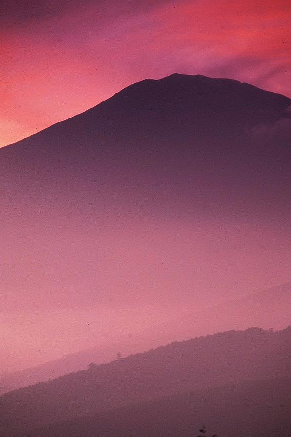 Japan Photograph - Aka Fuji 91 by David RedHawk