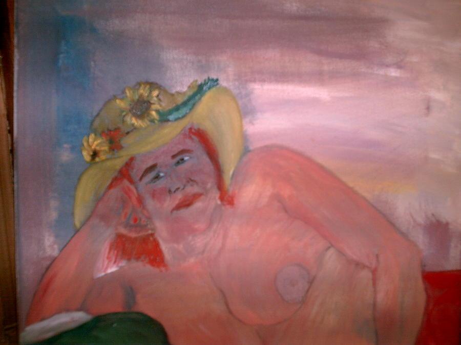 Akt Roswita Painting by Rosario Triglia