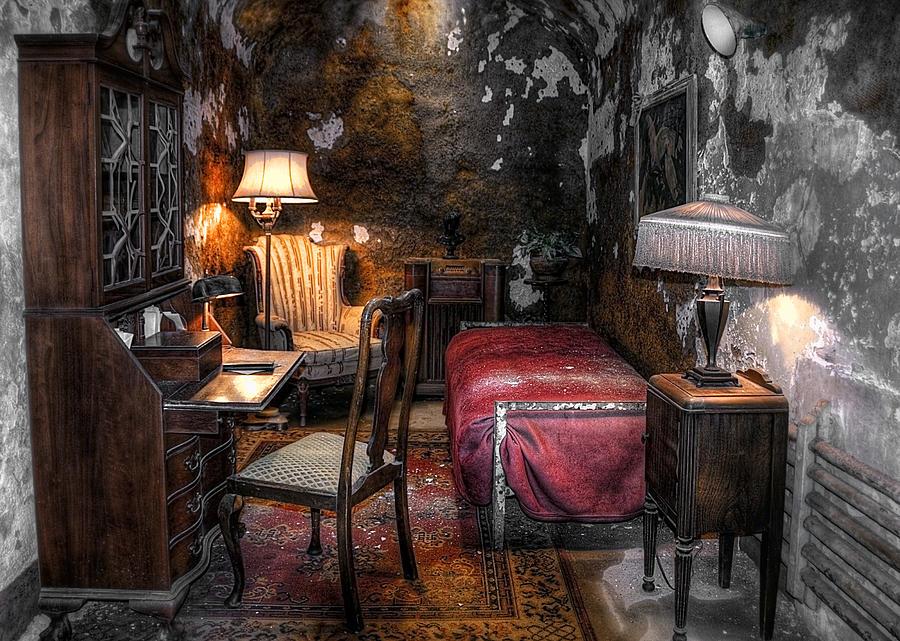 America Photograph - Al Capone Cell by Svetlana Sewell
