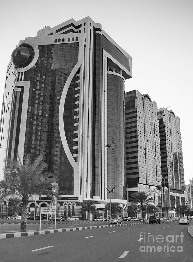 Sharjah Photograph - Al Durrah Tower - Sharjah by Hussein Kefel
