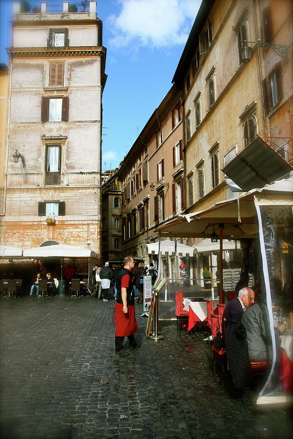 Rome Photograph - Al Fresco by Jason Wolters