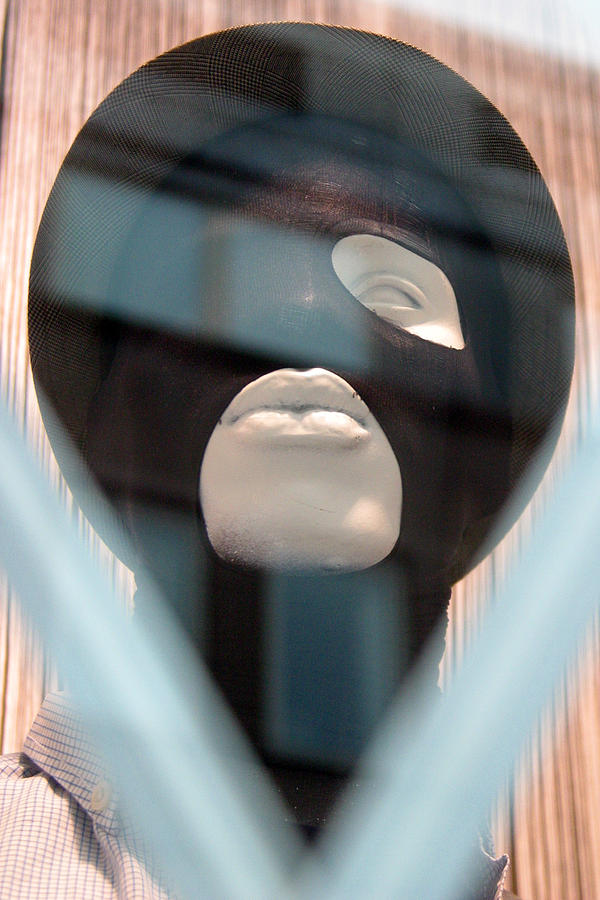 Photographer Photograph - Al Jolson Mask by Jez C Self