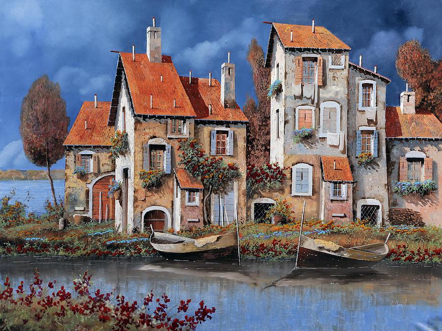 Al Lago Painting