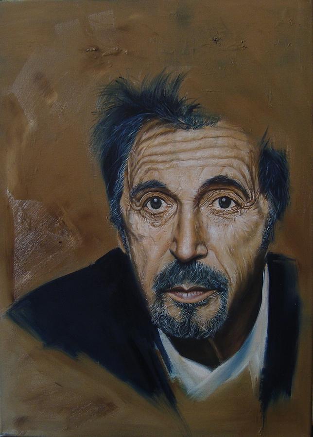 Al Pacino Painting