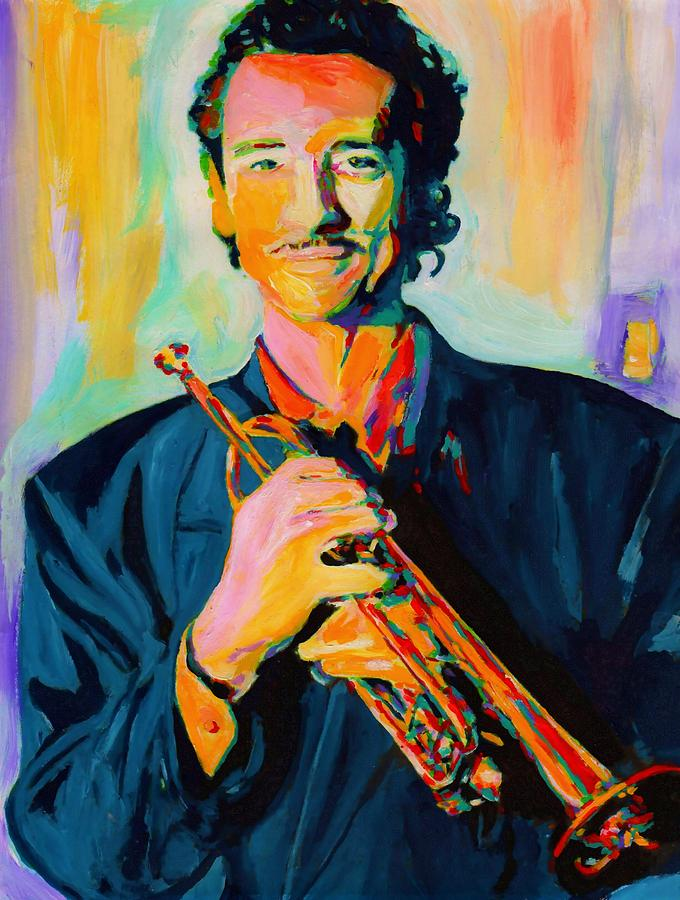 Big Band Painting - Al Vizzitti by Vel Verrept