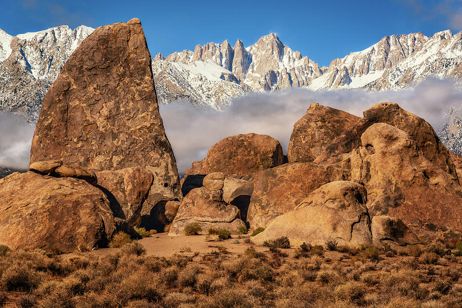 Alabama Hills Sharks Fin by John Hight