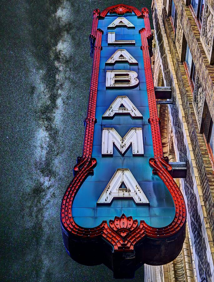 The Alabama Theater Photograph - Alabama by JC Findley