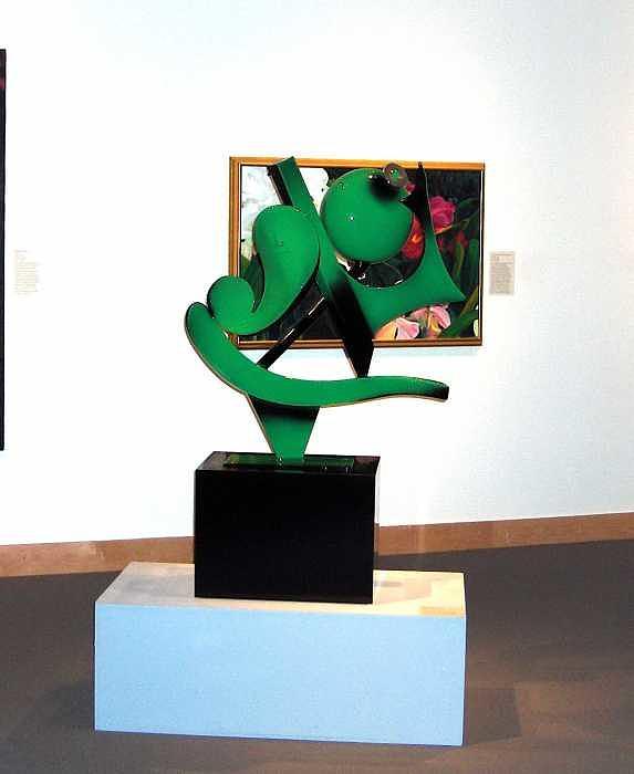 Steel Sculpture - Aladdin by Richard W Beau Lieu