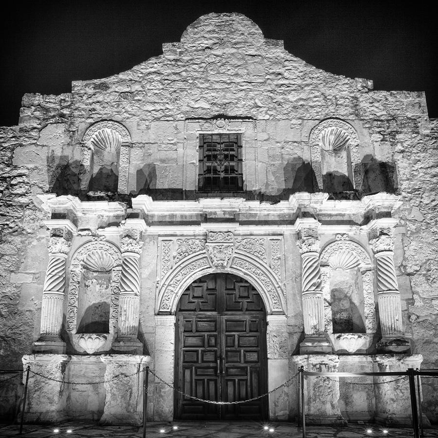 Alamo Photograph - Alamo Door by Stephen Stookey & Alamo Door Photograph by Stephen Stookey