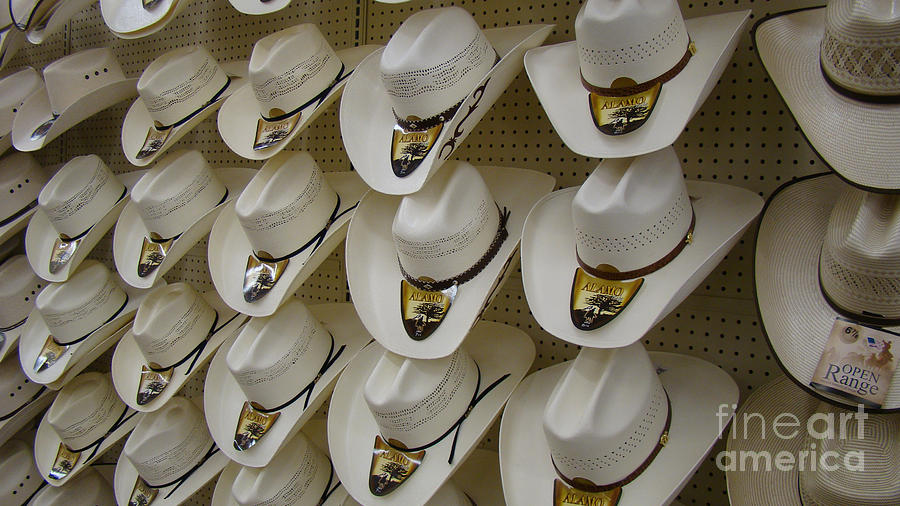 Alamo Hat Company Photograph by Beverly Guilliams 5a7a4550747