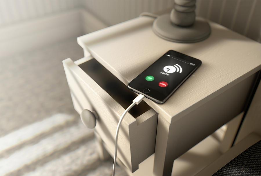 Alarm Digital Art - Alarming Cellphone Next To Bed by Allan Swart