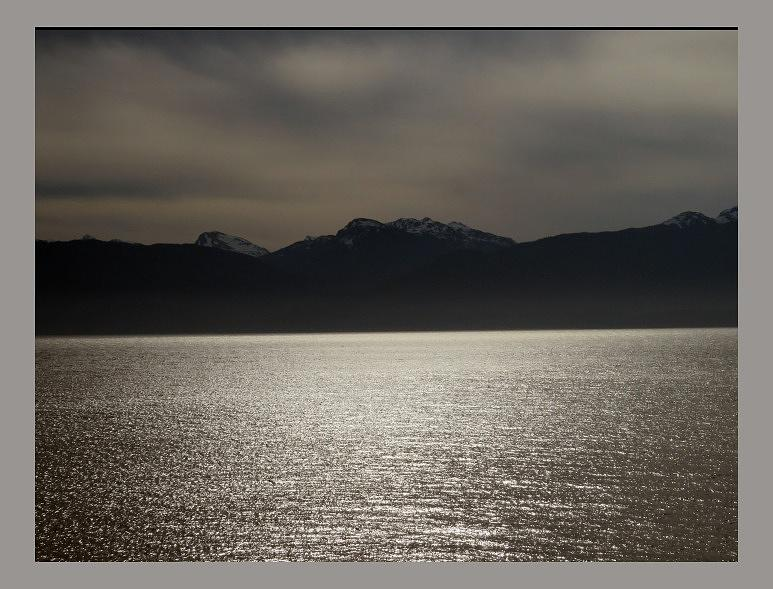 Alaska Photograph - Alaska at dusk by Kathlene Melvin