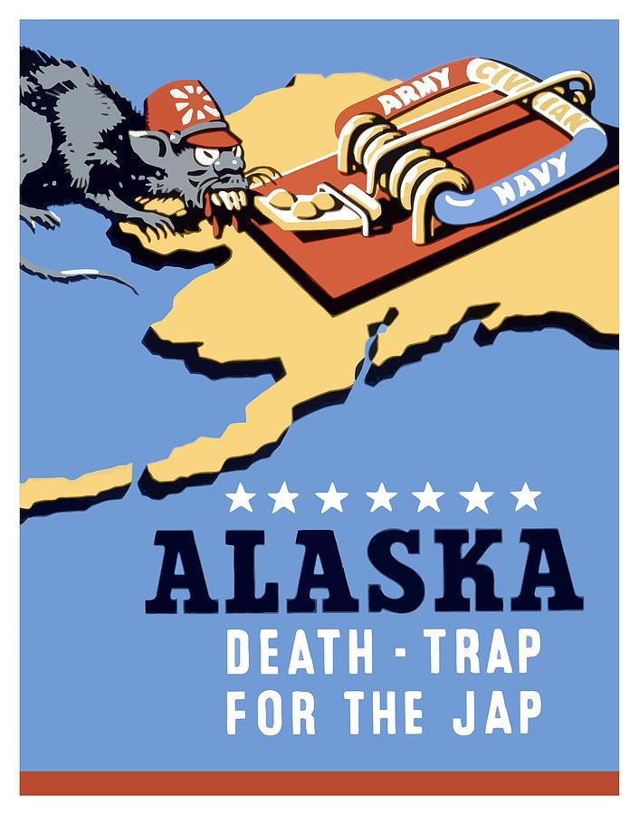 Alaska Death Trap Painting