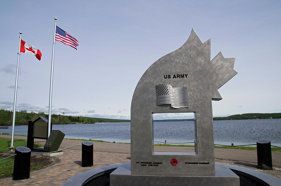Alaska Photograph - Alaska Highway Memorial by Robert Braley