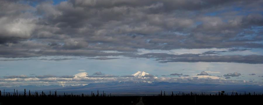 Mountains Photograph - Alaska Mountains by Dave Clark