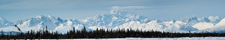 Denali Alaska Photograph - Alaska Range by Jeannette Reddington
