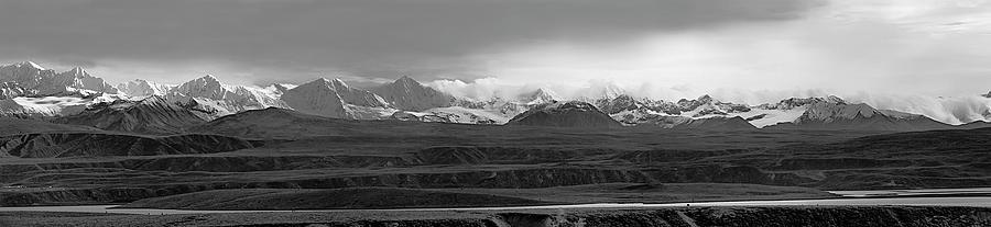 Alaska Photograph - Alaska Range Right Panel by Peter J Sucy