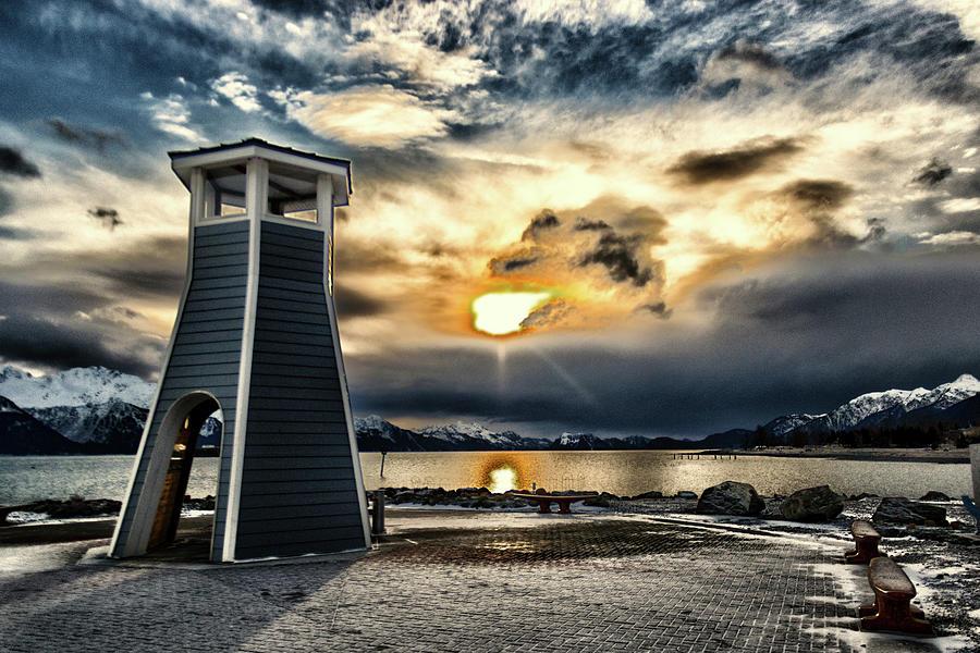 Alaska Starts Here Seward Alaska by Michael Rogers