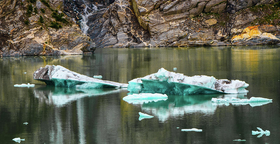 Alaska Photograph - Alaskan Icebergs by Jason Brooks