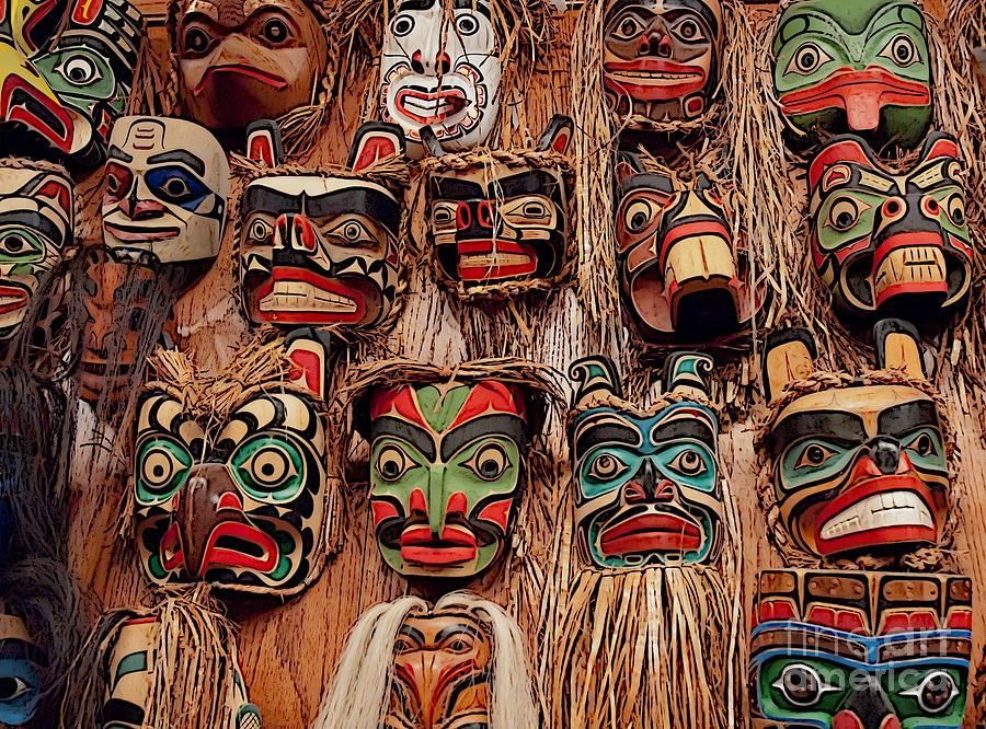 Alaska Photograph - Alaskan Masks by Kathi Shotwell