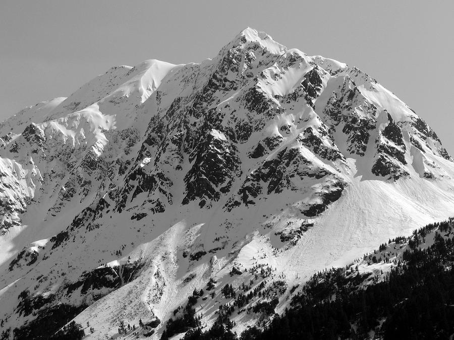 Alaska Photograph - Alaskan Peak by Ty Nichols