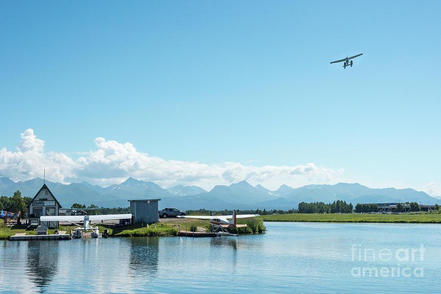 Alaska Photograph - Alaskan Seaplane Base by Paul Quinn