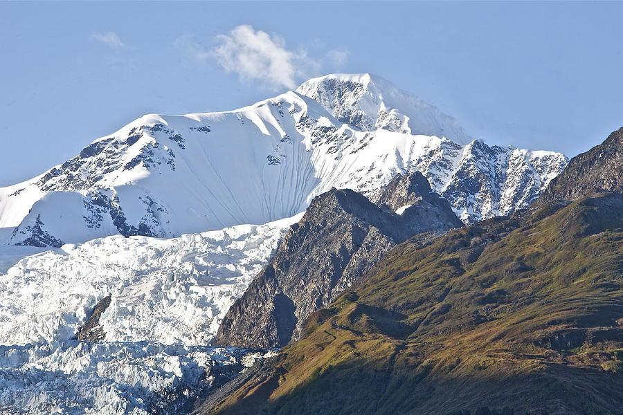 Alaska Photograph - Alaskan Snowtop by Robert Joseph