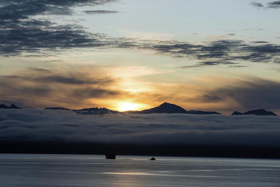 Alaskan Sun Rise Photograph