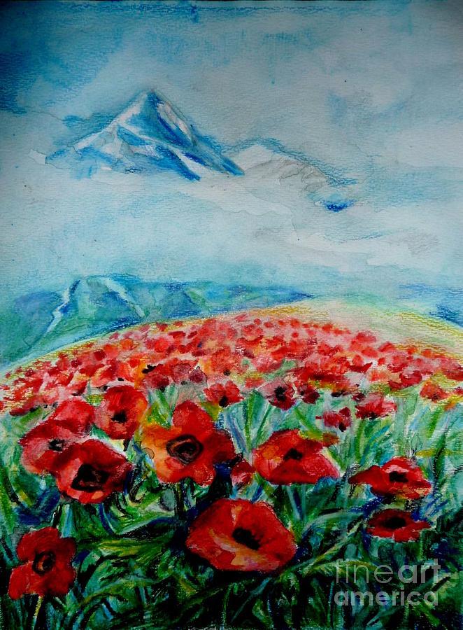For Sale Drawing - Alatau by Anna  Duyunova