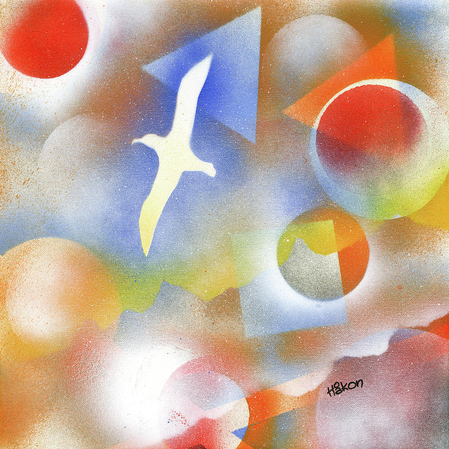 Albatross Painting - Albatross by Hakon Soreide
