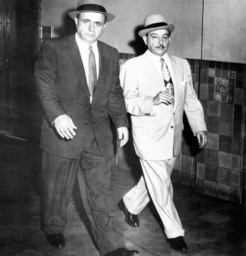 History Photograph - Albert Anastasia Left Leaves Federal by Everett