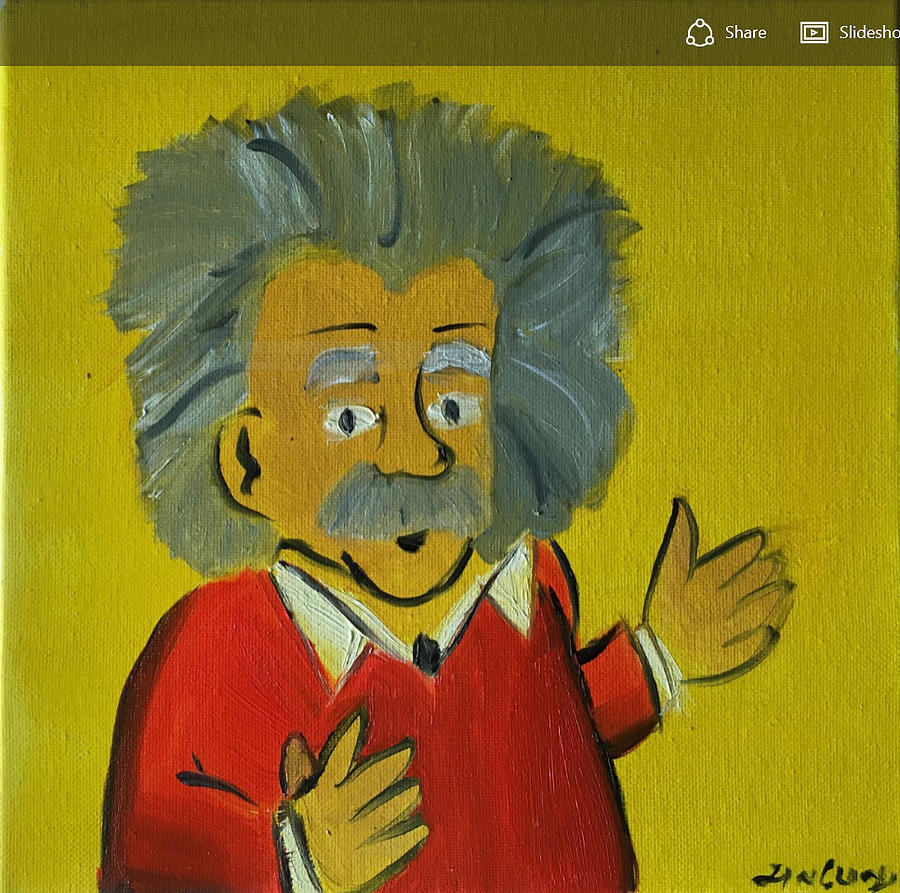 Albert Einstein Painting - Albert Einstein by Ramya Sundararajan