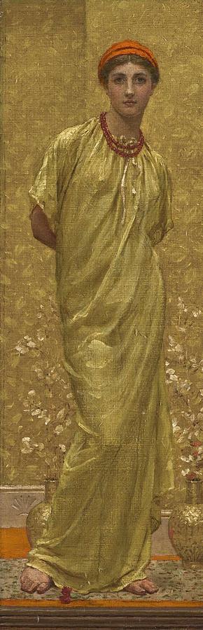 Albert Joseph Moore, A.r.w.s. 1841-1893 Garnets Painting