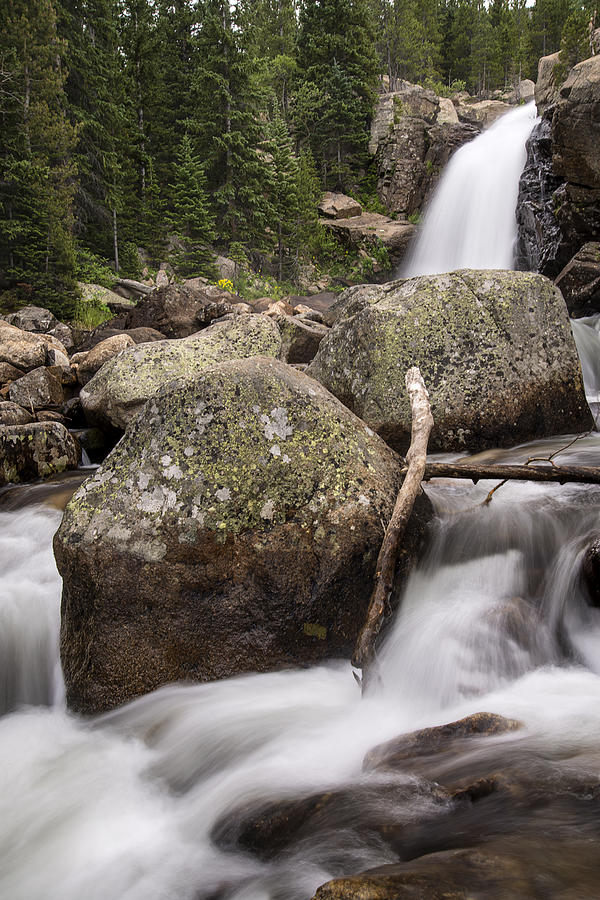 Alberta Falls RMNP by Lee Kirchhevel