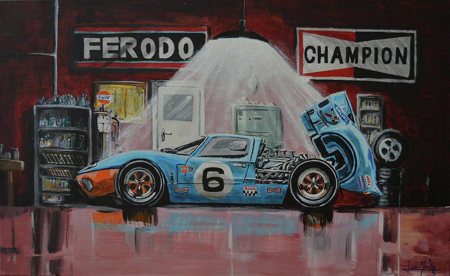 Albertos garage by Juan Mendez