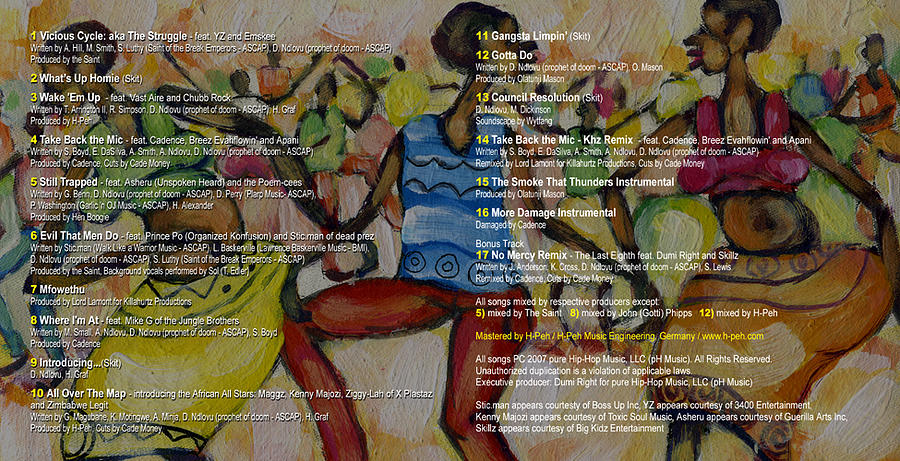 Dance Painting - Album Cover by Albert Moyo