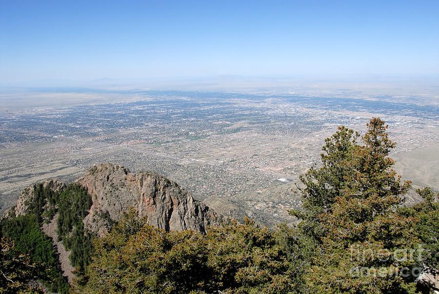 Albuquerque Photograph - Albuquerque And The Rio Grande by David Lee Thompson