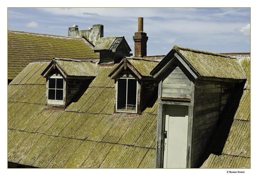 Alcaltraz Roofline Photograph by R Thomas Berner