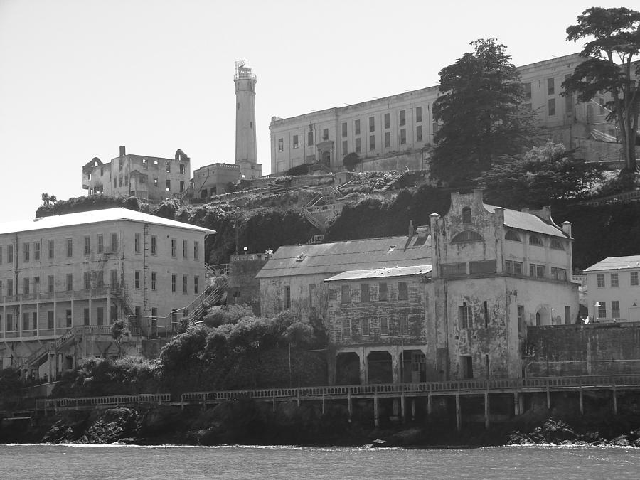 Landscape Photograph - Alcatraz Island by Bobby Miranda