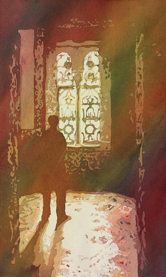 Europe Painting - Alcazar Window by Jenny Armitage