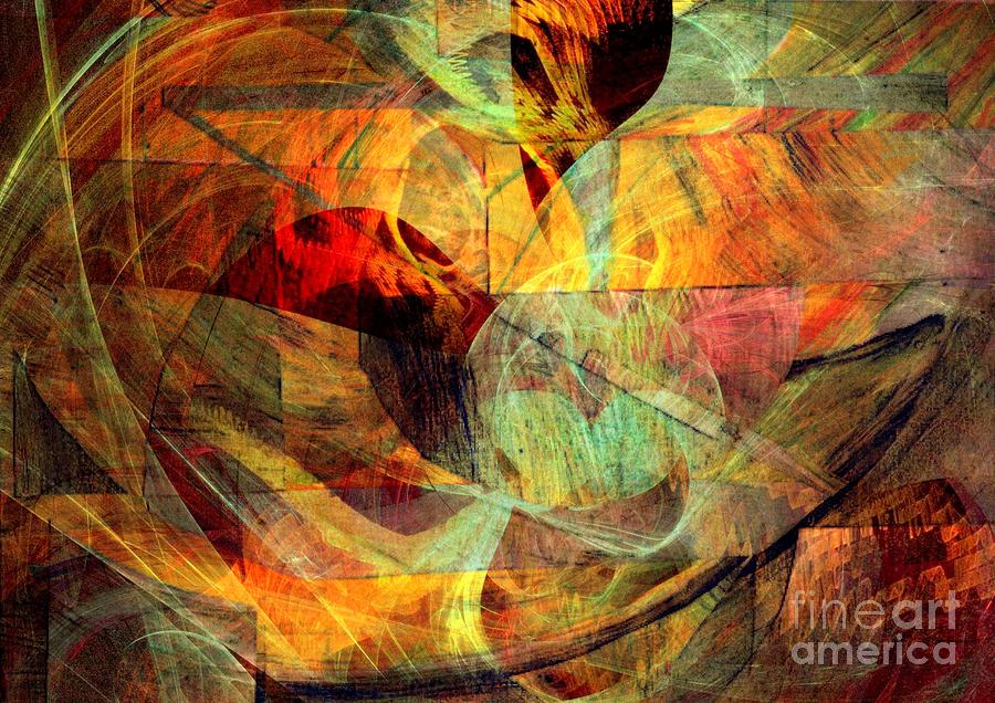 Mixed Media Digital Art - Alchemy 5 by Helene Kippert
